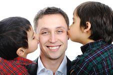 Free Happy Father Stock Photos - 13594893