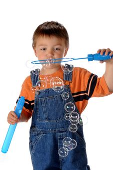 Free Bubble Maker Stock Photo - 13595360