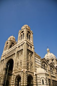 Free Marseille Cathedral Exterior Stock Photo - 13595560