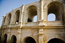 Free Historical Roman Arena In Arles Stock Photos - 13595563