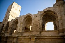 Free Historical Roman Arena In Arles Stock Images - 13595564