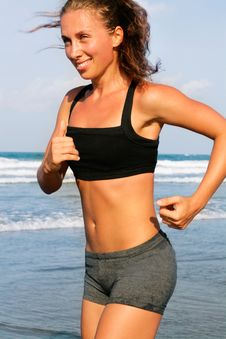 Free Running Woman Stock Photo - 13595580