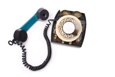 Free Old Green Phone Royalty Free Stock Photos - 13596008