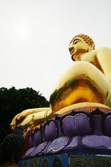 Free Golden Buddha Thailand Stock Photo Royalty Free Stock Image - 13596326