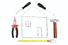 House Planning Stock Image