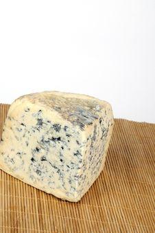 Moldy Cheese Isolated Royalty Free Stock Photos