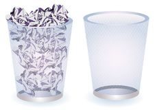 Free Paper Bins Stock Photography - 13597082