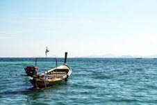 Free Long Tail Boat In Andaman Sea Royalty Free Stock Photos - 13597188