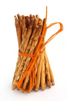 Sheaf Of Pretzels ( Breadsticks )