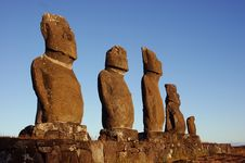 Free Easter Island Royalty Free Stock Images - 13597689