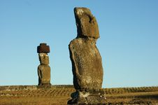 Free Easter Island Royalty Free Stock Photography - 13597737