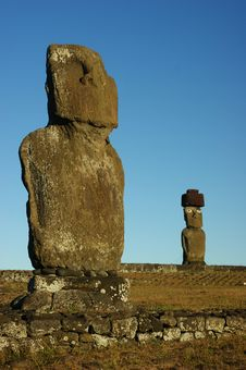 Free Easter Island Royalty Free Stock Image - 13597766