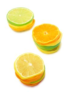 Free Lime Mandarine Limon Stock Photography - 13597942