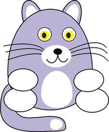 Free Cartoon Cat Stock Images - 13597974