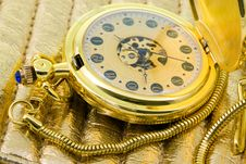 Free Antique Pocket Watch. Stock Photos - 13598323