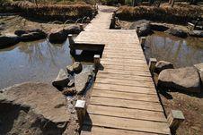 Free Wooden Bridge Stock Images - 13598324