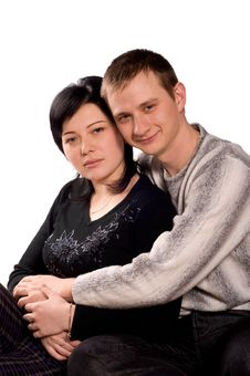 Free Portrait Of Couple Stock Images - 13598774