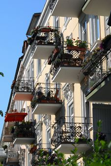 Free Balconies Stock Photography - 13598972