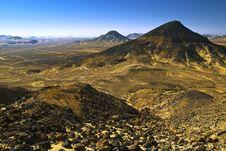 Free Volcanic Dlack Desert Stock Photo - 13599240