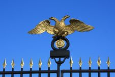 Free Russian Museum Gates Stock Image - 13599521