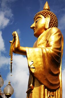 Free Standing Buddha Stock Photos - 13599653