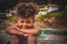 Free Toddler Girl Smiling Royalty Free Stock Image - 135955466