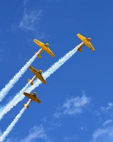 Free Sky, Airplane, Aerobatics, Air Travel Royalty Free Stock Photography - 135981917