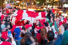 Free Crowd, Red, Protest, Event Stock Photo - 135982030