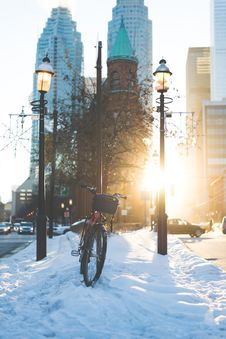 Free Winter, Snow, Urban Area, Freezing Royalty Free Stock Image - 135983086