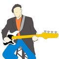 Free Guitarist Stock Photography - 1362192