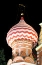 Free St.Basil Cathedral At Night 4 Stock Images - 1366314