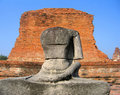 Free Statue At The Ancient Capital Of Thailand Royalty Free Stock Photo - 1366635