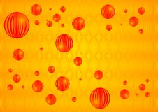 Orange Marble Balls Royalty Free Stock Photos