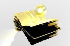 Free Gold Book Stock Photos - 1360213