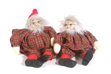 Free Christmas Puppets Royalty Free Stock Image - 1360346
