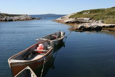 Free Fisherboats Stock Photography - 1360512