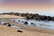 Free Ocean Beach Royalty Free Stock Photo - 1360985