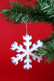 Free Snowflake Ornamant Stock Photos - 1361503