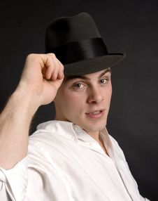 Free Tip Of His Hat Stock Photography - 1361832