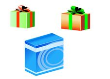 Free Gift Box Stock Photography - 1362182