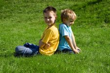 Free Boys Stock Photography - 1362212