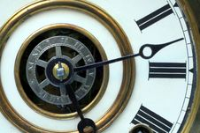 Free Antique Clock Face Stock Photo - 1362230