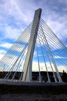 Free Modern Bridge 2 Royalty Free Stock Photography - 1362327