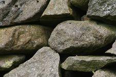 Free Dry Stone 2 Stock Image - 1362511