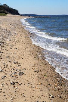 Free Beach Waves Stock Photo - 1363480