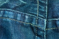 Free Blue Jeans Stock Image - 1364391