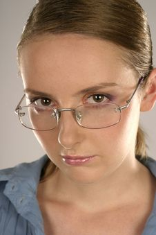 Free Woman In Glasses Stock Photo - 1364990