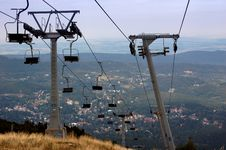 Free Chair Lift Royalty Free Stock Images - 1365409