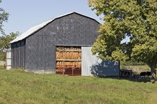 Free Tobacco Drying Barn Royalty Free Stock Photo - 1365495