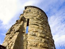 Free Ruined Tower Royalty Free Stock Photo - 1365575